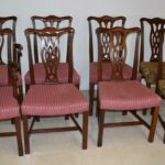 Eight-Chippendale-Mahogany-Dining-Chairs-By-Hickory-Chair-Company-193681352605