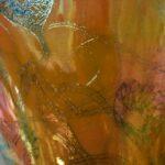 Imperial-Art-Glass-Heart-and-Vines-Vase-Orange-Gold-Iridescent-Lustre-193065710045-7