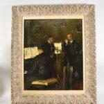 Impressionist-Painting-Three-Musicians-titled-Trio-by-Marta-Sappel-Circa-1944-265161222195-2