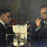 Impressionist-Painting-Three-Musicians-titled-Trio-by-Marta-Sappel-Circa-1944-265161222195-3