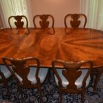 Italian-Georgian-Style-Dining-Room-Set-Table-Eight-Chairs-Ball-Claw-Feet-193659604685-2