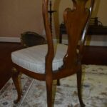 Italian-Georgian-Style-Dining-Room-Set-Table-Eight-Chairs-Ball-Claw-Feet-193659604685-4