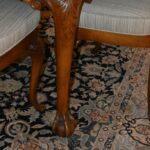 Italian-Georgian-Style-Dining-Room-Set-Table-Eight-Chairs-Ball-Claw-Feet-193659604685-8