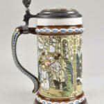 Mettlach-The-Twelve-Dancing-Princesses-Germany-Pottery-Stein-1980-265011854265