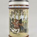 Mettlach-The-Twelve-Dancing-Princesses-Germany-Pottery-Stein-1980-265011854265-2