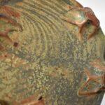 Michigan-Artist-John-Glick-Pottery-Green-Rust-Dish-264896972145-5