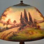 Moe-Bridges-Reverse-Painted-Table-Lamp-Acorn-Pulls-264922639525-3