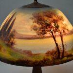 Moe-Bridges-Reverse-Painted-Table-Lamp-Acorn-Pulls-264922639525-4
