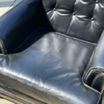 Pair-Heritage-Leather-Chairs-With-One-Ottoman-Brass-Nail-Head-Trim-265121569615-4