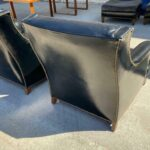 Pair-Heritage-Leather-Chairs-With-One-Ottoman-Brass-Nail-Head-Trim-265121569615-5