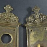 Pair-of-Heavy-Victorian-Antique-Yale-and-Towne-Cast-Brass-Entry-Door-Plates-14-192843120635-4