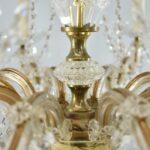 Ten-Arm-Cut-Crystal-Chandelier-32-Diameter-Good-Wiring-192839108345-5