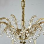 Ten-Arm-Cut-Crystal-Chandelier-32-Diameter-Good-Wiring-192839108345-7
