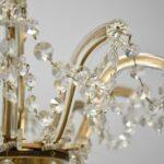 Ten-Arm-Cut-Crystal-Chandelier-32-Diameter-Good-Wiring-192839108345-9