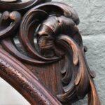 Vintage-Carved-Walnut-Oval-Mirror-Circa-1930s-193811018375-3