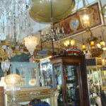 Vintage-Italian-Brass-and-Glass-Chandelier-Light-Fixture-192043947285-7