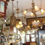 Vintage-Italian-Brass-and-Glass-Chandelier-Light-Fixture-192043947285-8