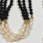 14-K-Onyx-Pearl-16-Necklace-7-Bracelet-193927786486-3