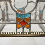 Antique-Brass-Leaded-Stained-Glass-Foyer-Chandelier-Circa-1920s-265148258846-3