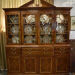 Drexel-Heritage-Furniture-Breakfront-Secretary-Heirloom-Collection-Bubble-Glass-265111122346-2