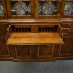 Drexel-Heritage-Furniture-Breakfront-Secretary-Heirloom-Collection-Bubble-Glass-265111122346-3