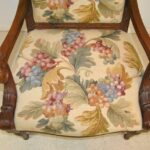 FRENCH-STYLE-HAND-CARVED-WALNUT-NEEDLEPOINT-ARM-CHAIR-193162751446-6