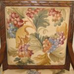 FRENCH-STYLE-HAND-CARVED-WALNUT-NEEDLEPOINT-ARM-CHAIR-193162751446-7