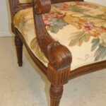 FRENCH-STYLE-HAND-CARVED-WALNUT-NEEDLEPOINT-ARM-CHAIR-193162751446-8