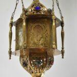 Moroccan-Style-Hanging-Brass-Glass-Lantern-Chandelier-264709497386-2