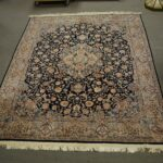 Oriental-Rug-Hand-Tied-Blue-and-Tan-8-x-10-12-194131336056