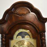 Sligh-Mahogany-Grandfathers-Clock-0214-2-W-I-Moon-Phase-Dial-193400319376-4