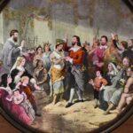 US-HISTORY-Civil-War-Magic-Lantern-Slides-McIntosh-Marriage-of-Pocahontas-1613-265144246606-2