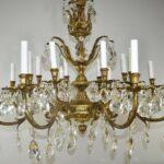 Vintage-36-Sixteen-Light-Bronze-and-Crystal-Chandelier-193655319026-3