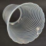 Vintage-Opalescent-Art-Glass-Swirled-Shade-8-x-8-264865351216-3