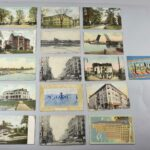 Vintage-Toledo-Ohio-Post-Cards-set-of-28-1907-1911-Post-Marks-Some-Stamps-264318687336