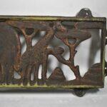 African-Safari-Iron-Wall-Panel-Elephant-Giraffe-Lion-Monkey-194060251897-2