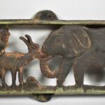 African-Safari-Iron-Wall-Panel-Elephant-Giraffe-Lion-Monkey-194060251897-3