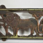 African-Safari-Iron-Wall-Panel-Elephant-Giraffe-Lion-Monkey-194060251897-4