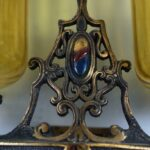 Antique-Brass-Spanish-Style-Wall-Sconce-Circa-1920s-USA-194035767527-2