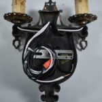 Antique-Brass-Spanish-Style-Wall-Sconce-Circa-1920s-USA-194035767527-5