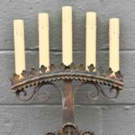 Antique-Gothic-Revival-Brass-Large-Scale-Wall-Sconce-Circa-1910-1920s-52-193407487537-2