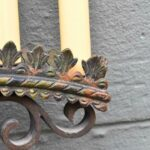 Antique-Gothic-Revival-Brass-Large-Scale-Wall-Sconce-Circa-1910-1920s-52-193407487537-4