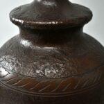 Antique-Jefferson-Porcelain-Lamp-Base-Asian-Style-With-Floral-Details-193722854977-4