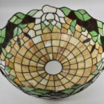 Antique-Leaded-Glass-Lamp-Cattails-Water-Lily-18-Miller-Lamp-Company-193725105217-7