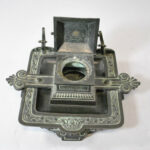Antique-Victorian-Bronze-Inkwell-with-Verdigris-Patina-262726003847-2