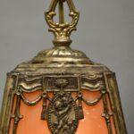 Brass-Slag-Glass-Pendant-Hall-Porch-Chandelier-Cherub-With-Flower-Bouquet-194060295527-4