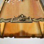 Brass-Slag-Glass-Pendant-Hall-Porch-Chandelier-Cherub-With-Flower-Bouquet-194060295527-5