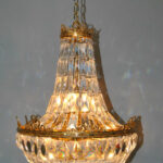 French-Basket-Form-Crystal-Chandelier-with-Brass-Frame-191638076367-2