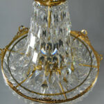 French-Basket-Form-Crystal-Chandelier-with-Brass-Frame-191638076367-5