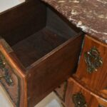Italian-Style-Marble-Top-Commode-Inlaid-Wood-Brass-Mounts-Hardware-193370722847-6